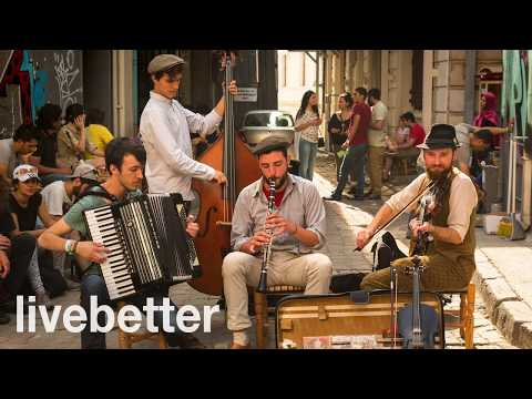 Modern jazz gypsy music to listen and dance instrumental mix romanian hungarian happy music