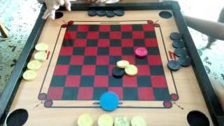 Cara hendak bermain karom ep1 oleh Mikhail Anas.