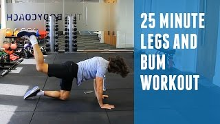 25 Minute Legs & Bum Workout | The Body Coach