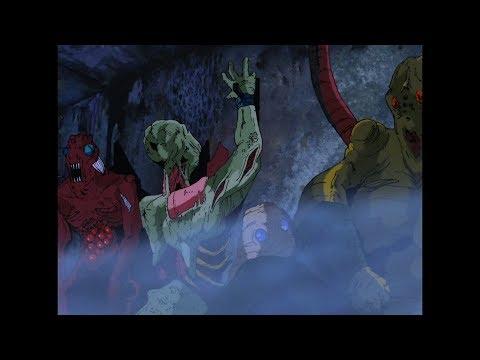 Vampire Hunter D Movie 1985  HD 1080p Best classic dark fantasy anime ever