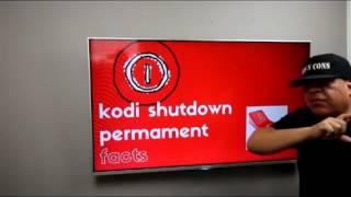 Kodi Has Shut Down Permanent