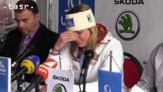 Veronika Zuzulová sa rozplakala na tlačovke...