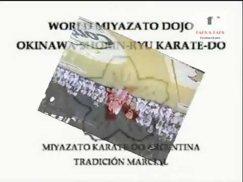 Miyazato Karate Do Kata Matsumura no Passai & Kata Kooryu Passai M. Miyazato & M. Coraglio