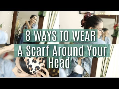 Xxx Mp4 8 EASY Ways To Wear A Scarf Around Your Head Komal Pandey 3gp Sex