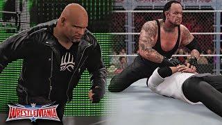 WWE Wrestlemania 32 - Undertaker vs Shane McMahon & Goldberg Returns Attack Undertaker - WWE 2K16