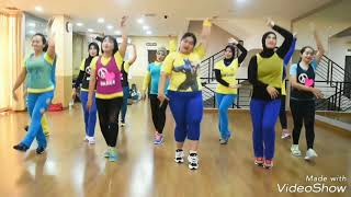 "Dangdut ""Jaran Goyang"" (Nella Kharisma) Dance for Fitness and Fun Part 3"