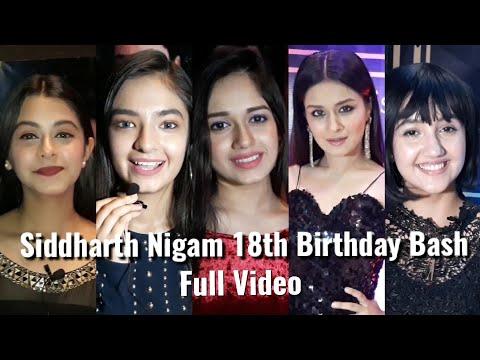 Xxx Mp4 Full Video Siddharth Abhishek Nigam S Birthday Bash 2018 Anushka Avneet Jannat Ashnoor 3gp Sex