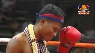Rith Atith, Cambodia Vs Plangthip Poryuthaphumi, Thai, Khmer Boxing 12 october 2018