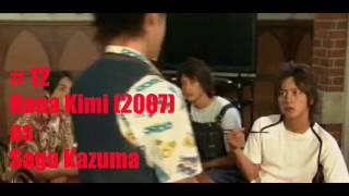 12 Junpei Mizobata Dramas