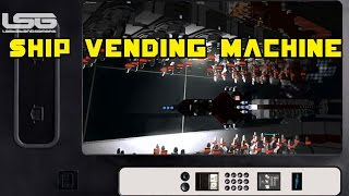 Space Engineers - Ship Vending Machine, Rotary Printer