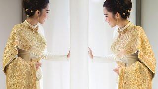 FINALE WEDDING STUDIO ชุดไทยศิวาลัย อี๊ฟ พุทธธิดา ศิระฉายา