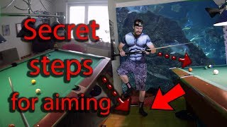 Secret steps for aiming (aim like a pool pro quickly)