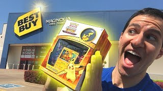 BEST BUY HAS CHEAPER POKEMON CARDS THAN WALMART! Opening Shining Legends Packs FROM THE STORE!