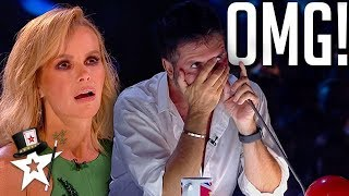 TOP MAGICIANS SHOCK JUDGES! Britain