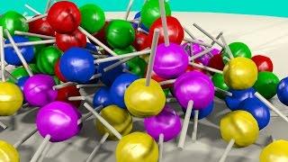 Lollipop Finger Family Collection ☻ Daddy Finger Song For Kids 3D - Nursery Rhymes For Children