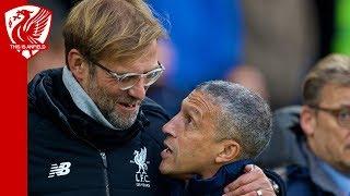 Jurgen Klopp on misunderstanding with Brighton boss Chris Hughton