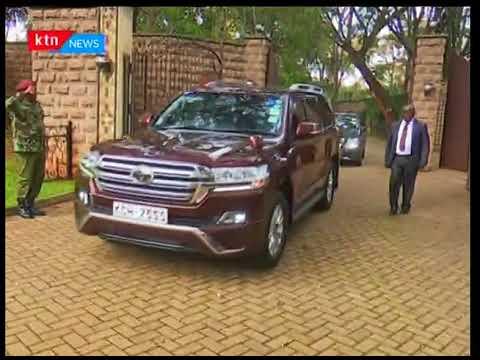 Kiongozi wa chama wa ODM Raila Odinga afanya mkutano na aliyekuwa rais Mwai Kibaki