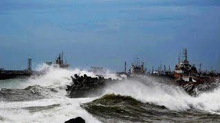 Cyclone ROANU hits Andhra Pradesh, Odisha, high alert issued |वनइंडिया हिन्दी