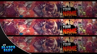 Free Banner Template 2015 AW - Banner Editable .psd (Download Link)
