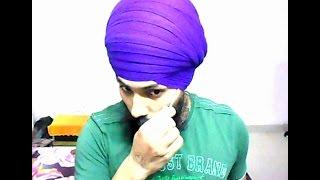 How to Tie Dumalla Sahib - Style 6