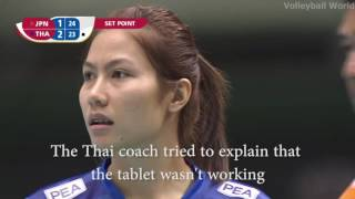 The sad story of the Thai women's volleyball