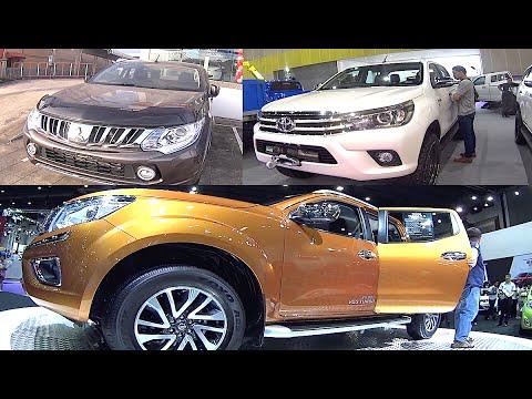 2016, 2017 Nissan NP300 Navara, Toyota Hilux Revo, Mitsubishi L200 Triton