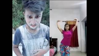 hilarious video | When creative people use musically .