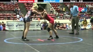 WM 52 KG - RD2 - Alexandria Salmos (BTSNY) vs. Jordan Morrell (TN)
