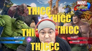 THIS GAMEPLAY EXTRA THICC!! [MARVEL VS CAPCOM: INFINITE]