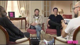 Teaser de la rencontre avec Jonah Hill, Miles Teller et Youssoupha pour War Dogs