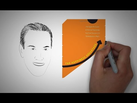 THE HAPPINESS ADVANTAGE at work by Shawn Achor ANIMATED CORE MESSAGE