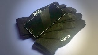 iGlove неплохие дешевые перчатки для сенсорных экранов из Китая Посылка с Aliexpress