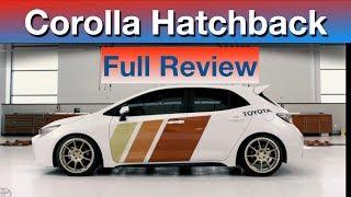 New Toyota Corolla Hatchback  2019  Corolla hatchback sport  टोयोटा कोरोला हैचबैक  Toyota car videos