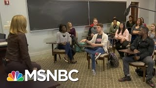 Otterbein University Students React To Lewd Donald Trump Tape | MSNBC