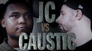 KOTD - Rap Battle - Caustic vs JC