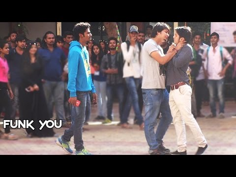 Ragging Social Experiment in College by Funk You Pranks in India