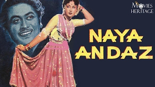 Naya Andaz 1956 Full Movie | Kishore Kumar, Meena Kumari | Bollywood Classic Movies |Movies Heritage