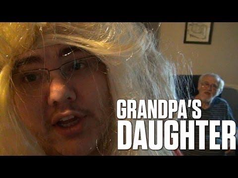 GRANDPA'S NEW DAUGHTER (PRANK BACKFIRE!)
