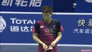 [50FPS] Thomas Cup 2016 Kunshan Day 3 KOR vs MYS [MS]