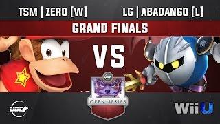 UGC Smash 4 GRAND FINALS  - TSM | ZeRo [W] (Diddy Kong) vs LG | Abadango [L] (Mewtwo, Meta Knight)