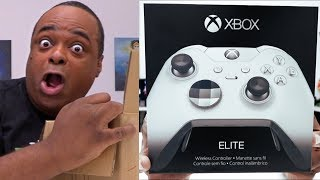NEW Xbox One White Elite Controller UNBOXING!