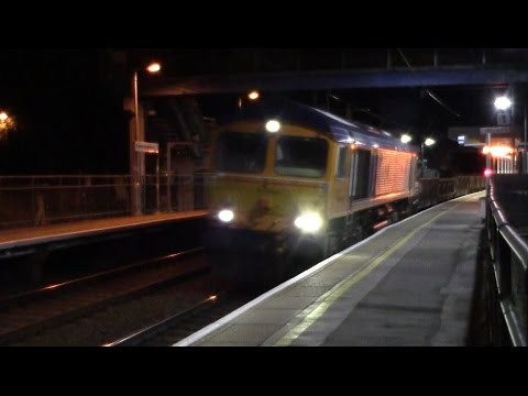 66762 6T60 20:47 Whitemoor Yard L.D.C Gbrf to Shenfield @ Stansted Mountfitchet 26/09/15