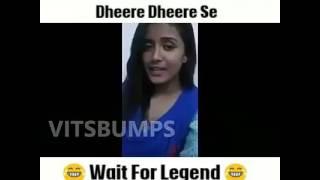 Engineering girls singing song Dheere Dheere se