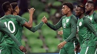Watch Super Eagles Of Nigeria Make Fun Of Their Goalie As He Claims 19
