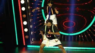 D4 Junior Vs Senior l Paul Barber and his son Surya I Mazhavil Manorama