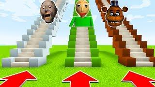 DO NOT CHOOSE THE WRONG STAIRS(BALDI BASICS,GRANNY,FREDDY FAZEBEAR)(Ps3/Xbox360/PS4/XboxOne/PE/MCPE)