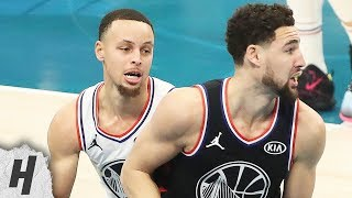 Stephen Curry Guards Klay Thompson And Enjoys It | February 17, 2019 NBA All-Star Game