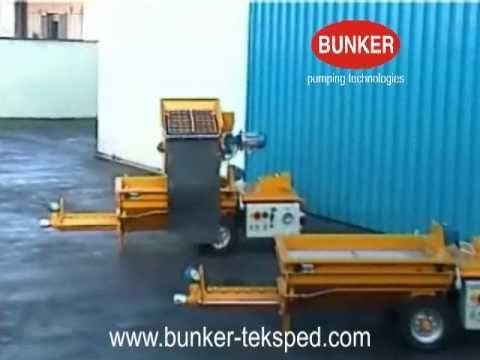 Máquina de Aplicação de Reboco e Cimento