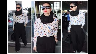 In Graphics: Kareena Kapoor Khan Airport Look