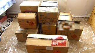 Unboxing Feuerwerk Einkauf Online Bestellung 2012 Part 1/4 Röder